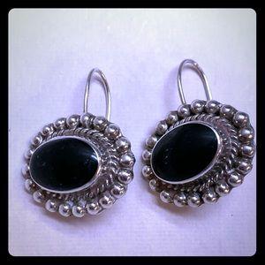 Vintage 925 Silver earrings